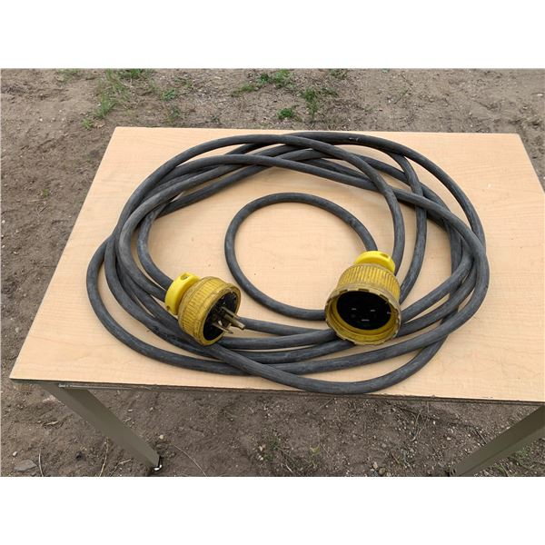 APPROXIMATELY 30 FT 50AMP 250VOLT EXTENSION CORD