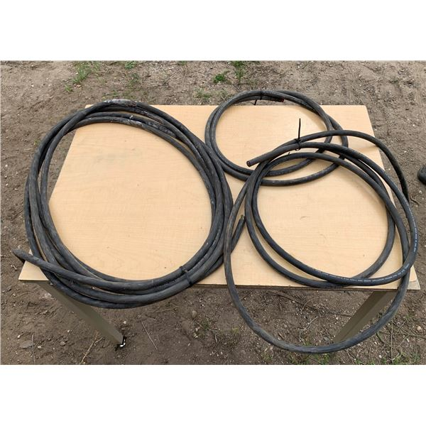 APPROXIMATELY 30 FT 10-3 CORD; 15 FT 12-4 CORD; 7 FT 12-4 CORD