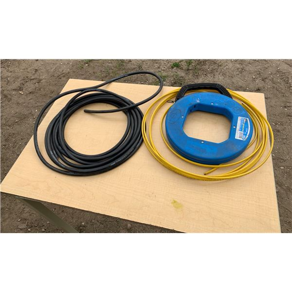 30 FT 14-6 CORD; 20 FT 12-2NM; 60 FT IDEAL STEEL FISH TAPE