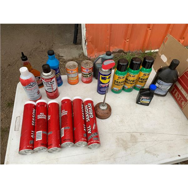 MISCELLANEOUS LUBES AND GREASE