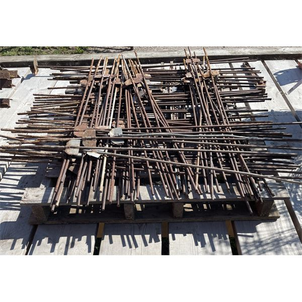 SKID LOT - ELECTRIC FENCE STAKES - APPROX 100 +