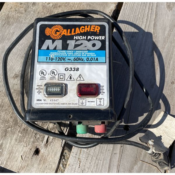 GALLAGHER G338 ELECTRIC FENCER - WORKING