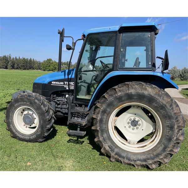 NEW HOLLAND MODEL TS110 TRACTOR WITH CAB