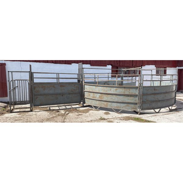 CATTLE CROWDING TUB - 10 FOOT ACROSS