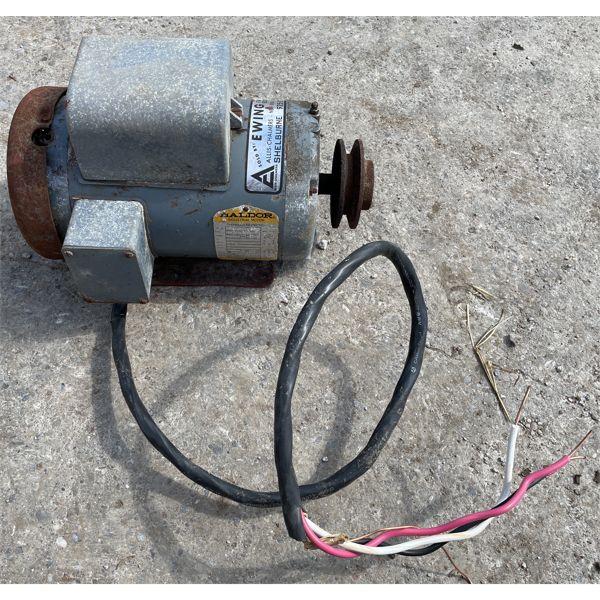 1.5 HP BALDOR ELECTIC MOTOR - RUNNING