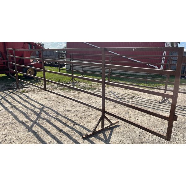 24 FOOT PORTABLE FENCE PANEL