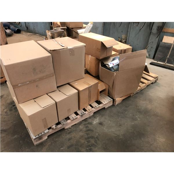 TWO PALLETS OF ASSORTED FILTERS & BELTS