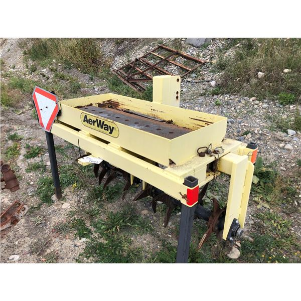 AERWAY MODEL AW06002B370 AERATOR WITH 8 ROTARY TINES