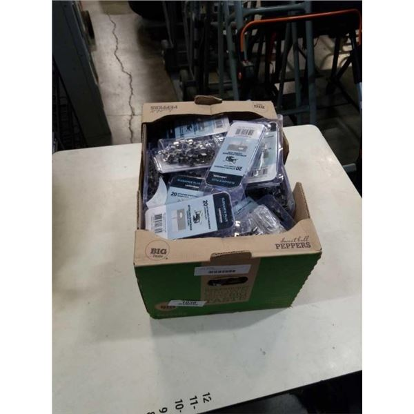 BOX OF STAINLESS STARTER CLIPS