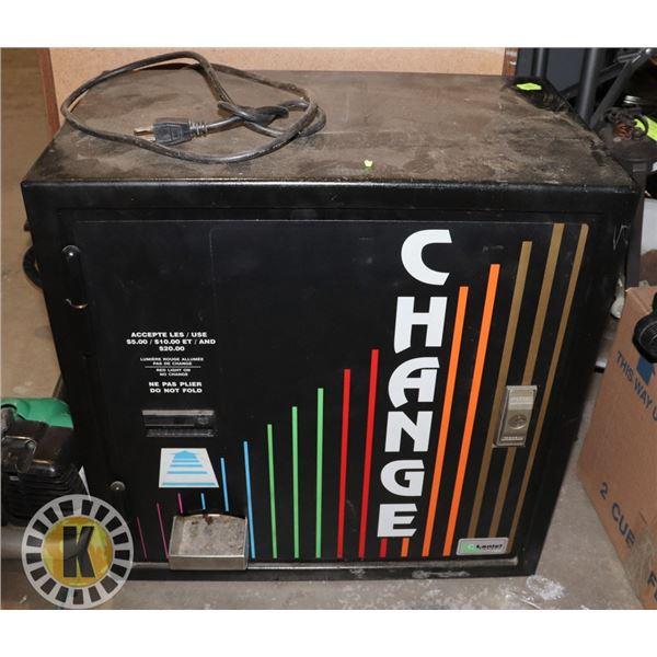 CHANGE MACHINE (HEAVY)