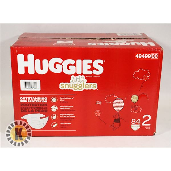 CASE OF HUGGIES SIZE 2