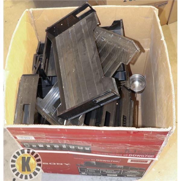 EXTRA LARGE BOX OF DESK FILES ORGANIZER