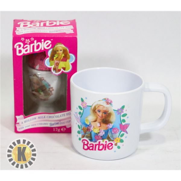 BARBIE COLLECTOR CUP (1995) SOLD WITH