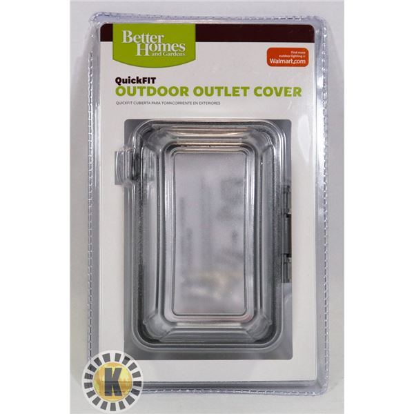 NEW QUICK FIT OUTDOOR OUTLET COVER