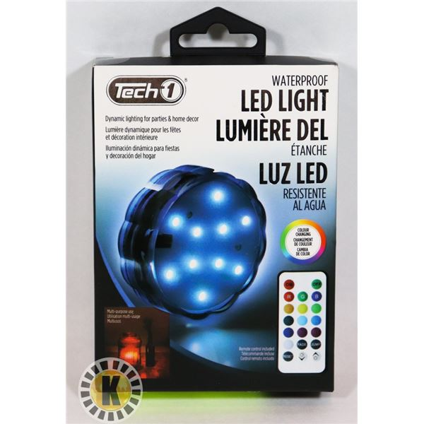 NEW WATERPROOF LED LIGHT WITH REMOTE