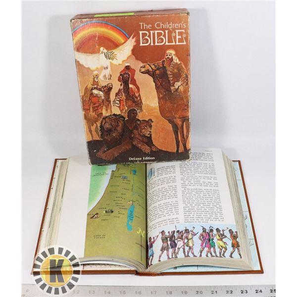 VINTAGE CHILDRENS BIBLE