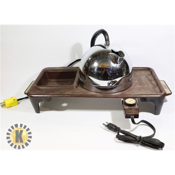JUBILEE HOTPLATE AND GENERAL ELECTRIC KETTLE