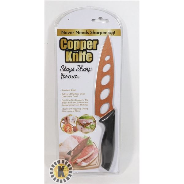 NEW COPPER KNIFE