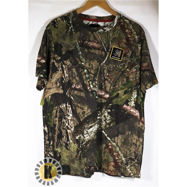 NEW MOSSY OAK SCENT CONTROL T-SHIRT SIZE LARGE