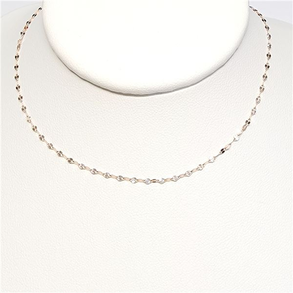 18K ROSE GOLD ROSE GOLD CHAIN  NECKLACE