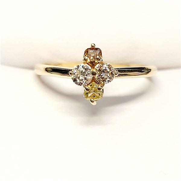 10K YELLOW GOLD TOTAL DIAMOND