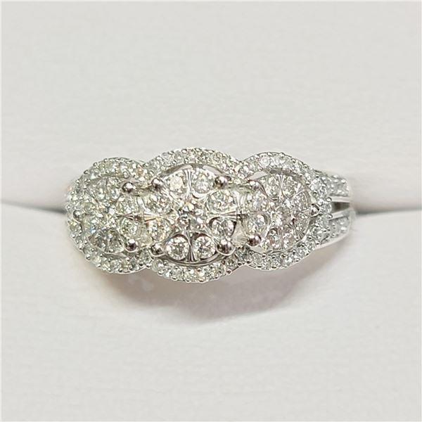 10K WHITE GOLD TOTAL DIAMOND (0.5CT) DIAMONDS