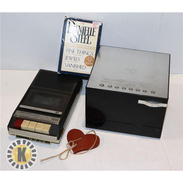SAMSUNG MMD330/ ZC, FM STEREO AND CASSETE BOOKS