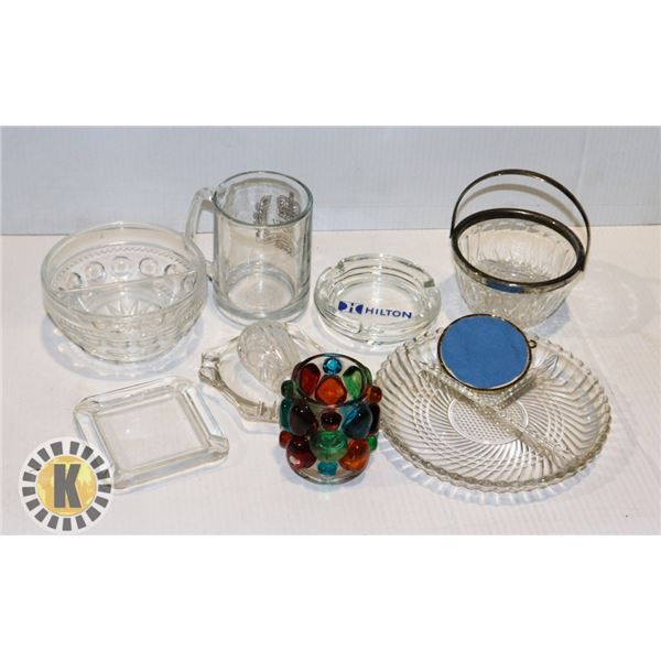 ASSORTED HOME SUPPLIES/DECORS