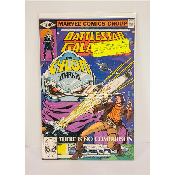 MARVEL BATTLESTAR GALACTICA #16 COMIC