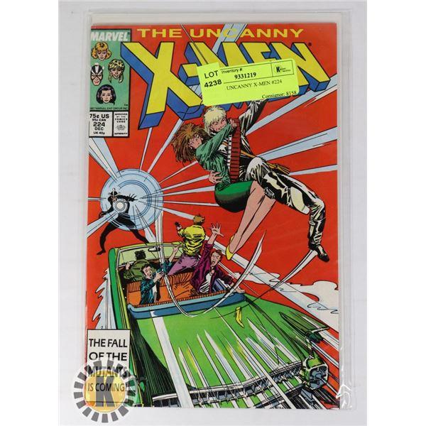 MARVEL UNCANNY X-MEN #224 COMIC
