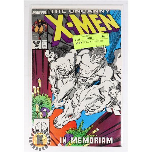 MARVEL UNCANNY X-MEN #228 COMIC
