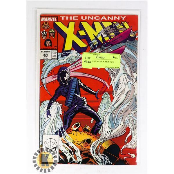 MARVEL UNCANNY X-MEN #230 COMIC