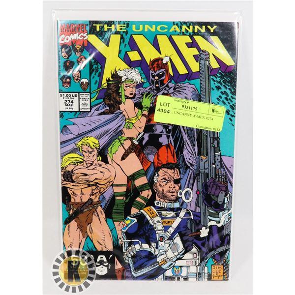 MARVEL UNCANNY X-MEN #274 COMIC