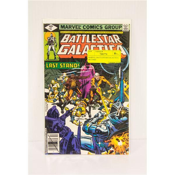 MARVEL BATTLESTAR GALACTICA #8 COMIC