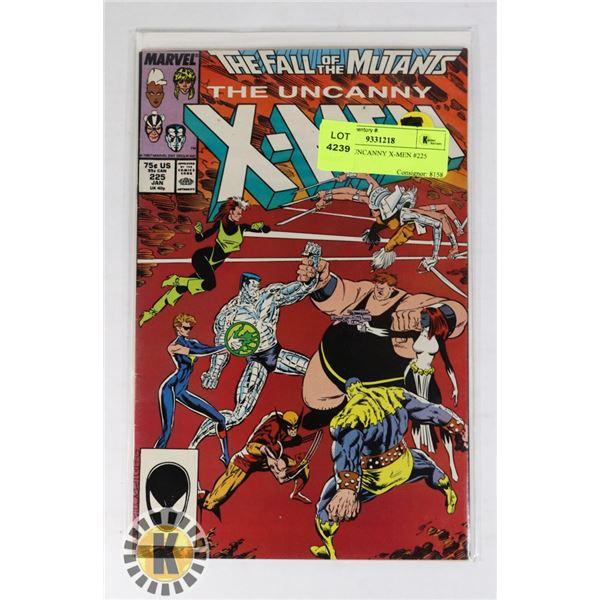 MARVEL UNCANNY X-MEN #225 COMIC