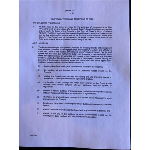 COURT ORDER TERMS AND CONDITIONS PLEASE READ AND FAMILARIZE  YOURSELF WITH THESE CONDITIONS