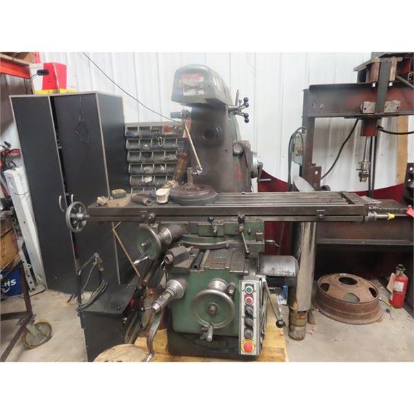 Varnamo FU-2 Milling Machine S# 1710