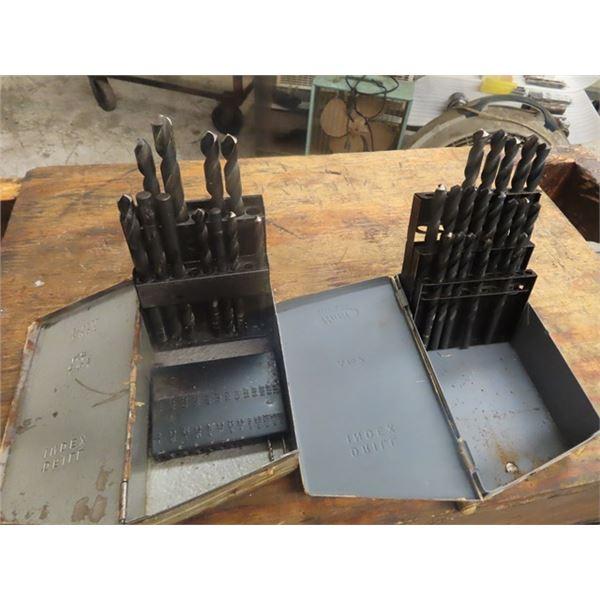 2 Steel Drill Bits