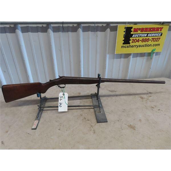"SL20 Harrington & Richardson HB 16 GA BL=27 3/4"" S#A85285 - Stock Cracked At Pistol Grip, Some Surfa"