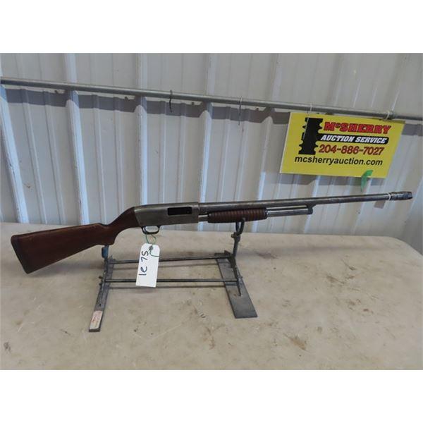 "SL21 Noble 40A PA 12 GA 2 3/4"" BL= 25"" Cracks In Stock at Pistol Grip, Adjustable Barrel Choke"