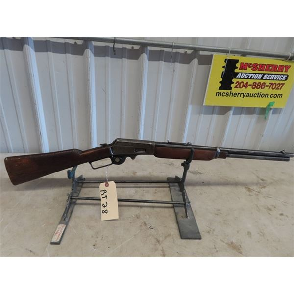 """RT28 Marlin 1893 LA 30-30 BL=20"""" S#259799 Replaced Stock & Forewood, Replaced Front Sight Heavy Rust"""