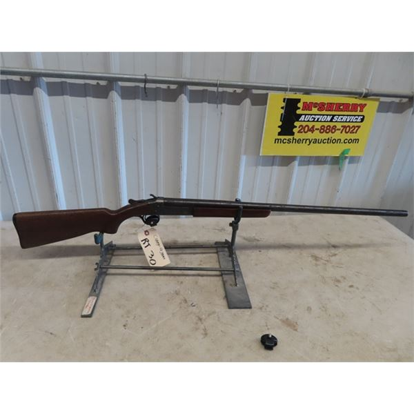 """RT30 Cooey Mdl 84 HB 12 GA BL=30"""" S#41383 Rust Pitting oN Receiver Stock Cracked"""