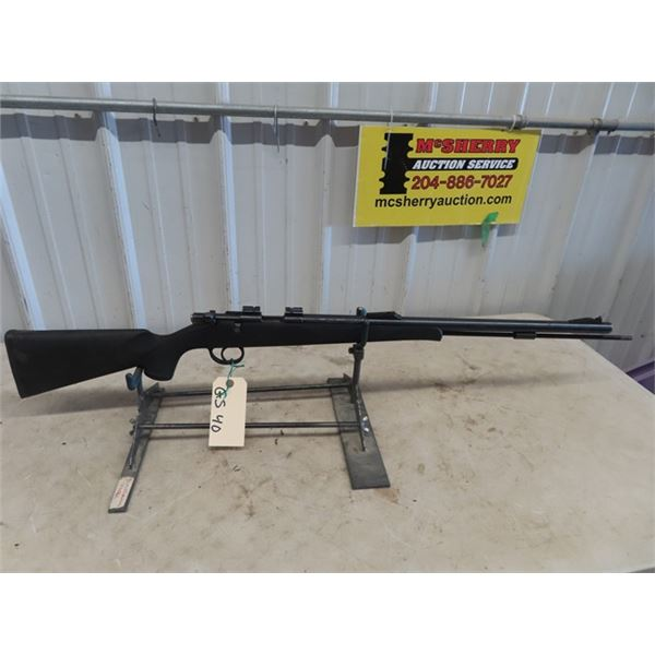 """GS40 Traditions Lighting Bolt In Line 50 Cal BL=24"""" Composite Stock, Scope Rails, In Line Black Powd"""