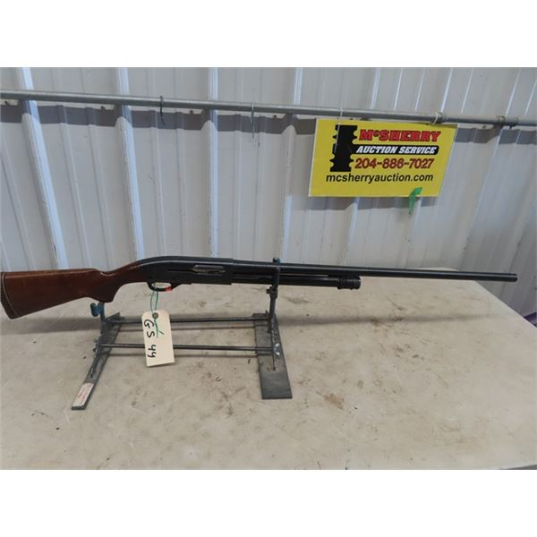 """GS44 Remington Sportsman 58 PA 12 GA 2 3/4"""" BL=27.5"""" S#198850V Crosspins to hold action in are missi"""