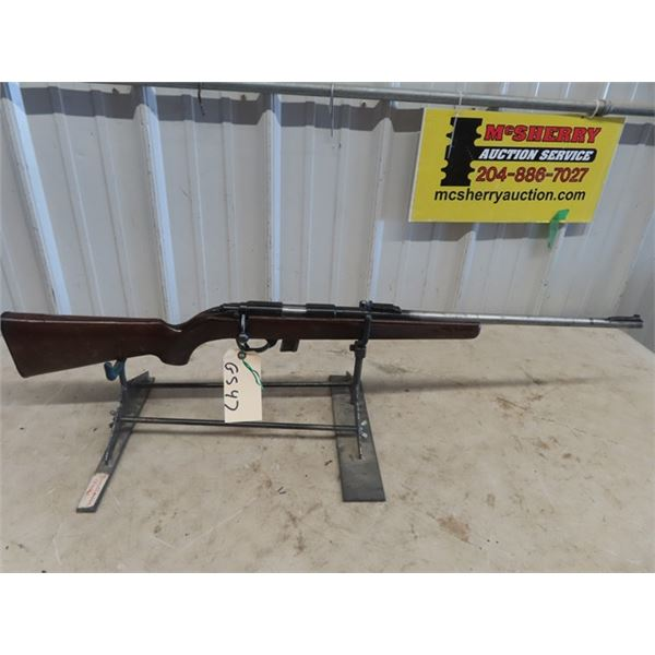 """GS47 Squire Bingham 1400 BA 22 LR only BL=23"""" S#A173720- One Magazine , Piece of Wood Broken out of"""