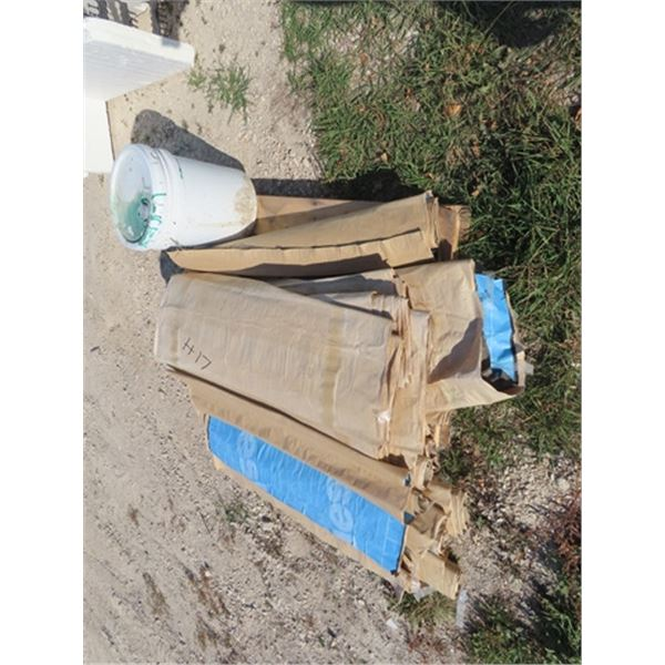 Pallet of Waterproof Foundation Membranes