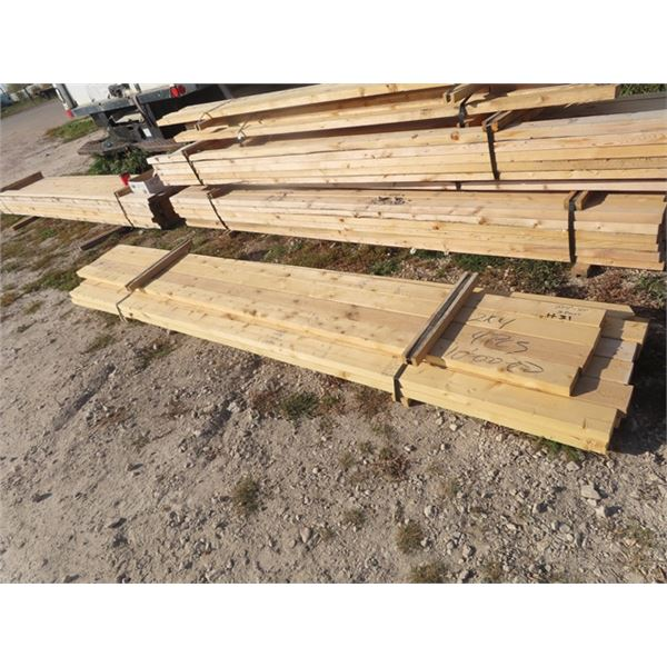 """16 Pcs - 2"""" x 4"""" x 10'Long - One Money for All"""