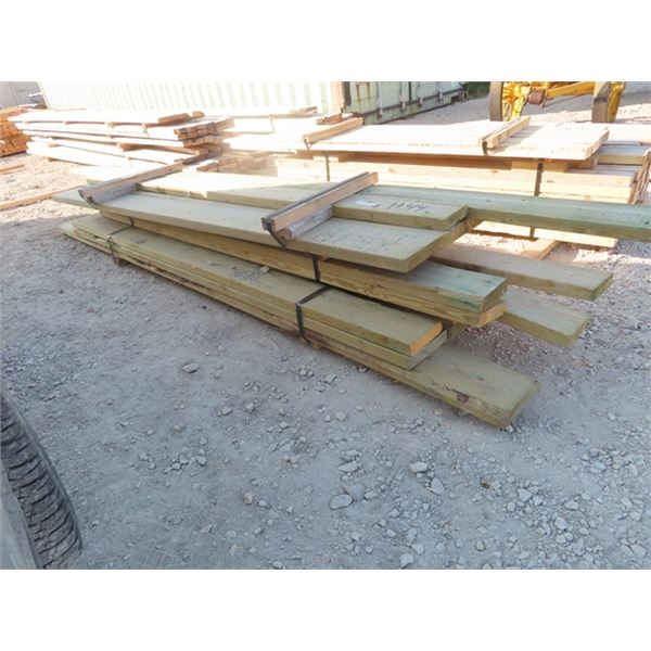 """Treated Mixed Pcs -2""""x6"""" & 2"""" x 8"""" , 8'-12' Long One Money For All"""
