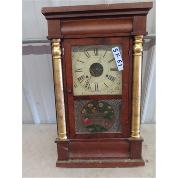 "Regulator Clock 25"" x 15"""