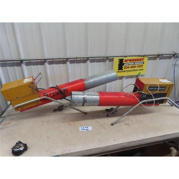 2 Propane Field Bangers 1) Cannon 1) Smith & Rolls